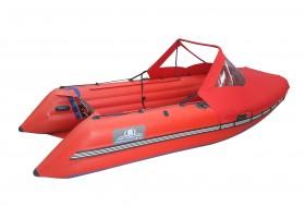 ВЫДРА- ШЕРПА 430 JET( тоннельная лодка)