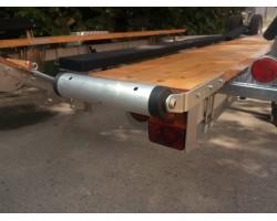 Закатные ролики 300 мм Боковое крепление широкое
