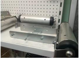 Закатные ролики 300 мм Боковое крепление узкое