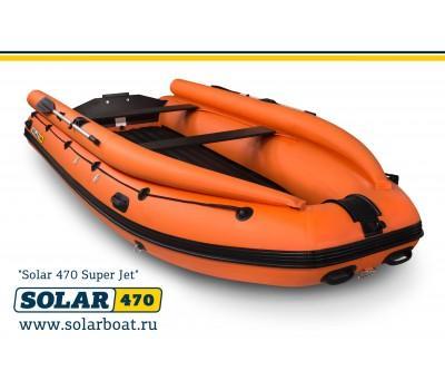 Лодка надувная моторная SOLAR-470 Super Jet tunnel (2020) (Expedition)