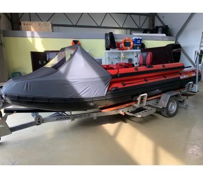 Лодка надувная моторная SOLAR-555 Super Jet tunnel (2021)