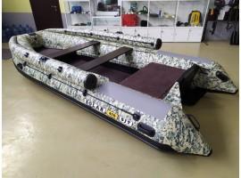 SOLAR-470 Super Jet tunnel (RIB) с фальшбортом