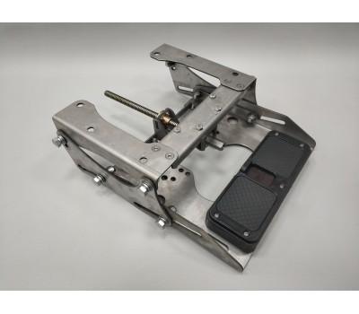 Малый регулируемый транец винт/водомет для моторов до 120кг