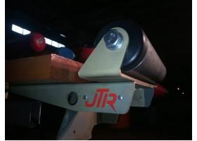 Закатные ролики 300 мм. крепление нижнее
