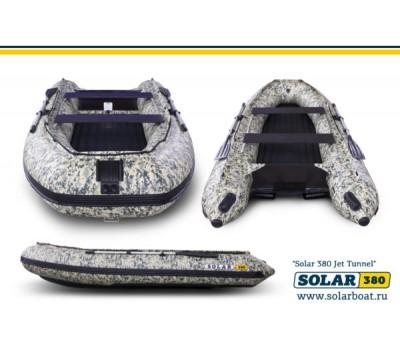 SOLAR-380 Jet tunnelтоннельная лодка