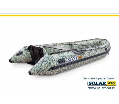 SOLAR-430 Super Jet tunnel тоннельная лодка